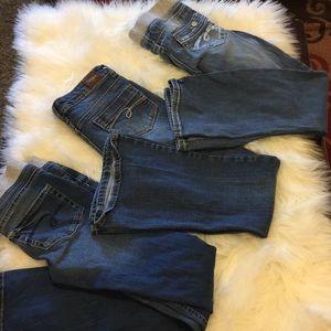 Bundle of justice girl jeans
